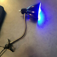 Desk Lamp With Clamp and Blue Light Bulb