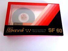 COMPACT CASSETTE TAPE BLANK SEALED - 1x (one) NEVIR SF 60 SUPER FERRO [1980's]