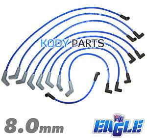 EAGLE IGNITION LEADS - for Ford Falcon EB, ED, EF EL 5.0L 302 V8 Windsor inc XR8