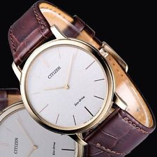Citizen Gold Plated Case Analog Wristwatches