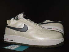 06 Nike Air Force 1 QUINCEANERA PEARL WHITE PEWTER GREY PINK 307109-102 12 10.5