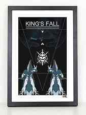 Destiny King's Fall raid poster print