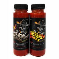 Chilli Sauce - Carolina Reaper & Trinidad Scorpion Chilli Puree 2 x 200ml