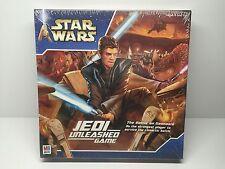 Star Wars Jedi Unleashed The Battle On Geonosis Board Game 2002 8+