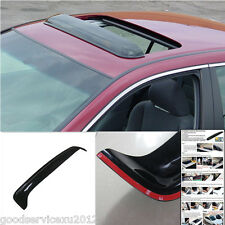 Smoke Black Vehicles Sunroof/Noise/Rain Roof Guard Visor Shield Device For Mazda