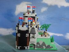 LEGO 6081 Vintage Castle Set : Crusaders King's Mountain Fortress 100% Complete