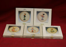 Goebel Hummel 1985-1991 Miniature Collector's Plates (Lot Of 5)