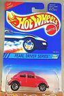 1995 Hot Wheels #293 Pearl Driver Series 3/4 VW BUG Pink w/Chrome 7 Spoke Wheels