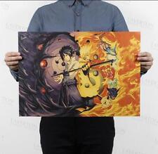 Naruto E / kraft paper poster decorative painting