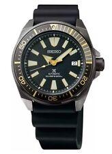 New Seiko SRPB55 Automatic Samurai Black Ion Rubber Strap Divers 200M Mens Watch