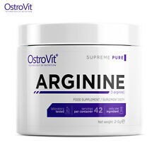 ARGININE POWDER 42 SERVINGS - Pre Workout NO Booster Strong Muscle Pump & Growth