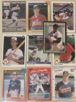 ROGER CLEMENS 1985 DONRUSS #273 ROOKIE+9 RC (10 cards total) ***FREE SHIPPING***