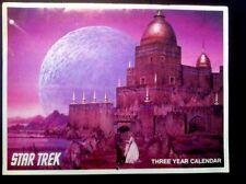 Star Trek  Lincoln Enterprises 1970's THREE YEAR CALENDAR  UNUSED.