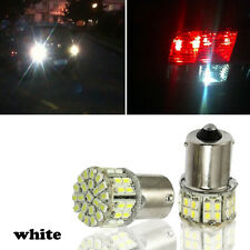 1x BA15S 1156 Auto hinten Schalten Lichtsignal 50 SMD LED Leuchtmittel 12V Weiß