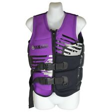 YAMAHA LIFE JACKET PFD50S Purple Carbon SIZE 16