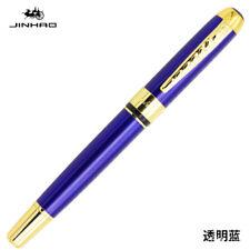 Jinhao 250 Smooth Colorful Metal Clip Fountain Pen Medium Fine Nib 0.5mm Writing
