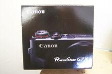 Canon - PowerShot G7 X Mark II 20.1-Megapixel Digital Video Camera - Black- NIB