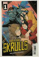 Meet the Skrulls #1 (Marvel 2019) Marcos Martin Cover