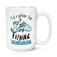Prefiero ser la pesca 15 OZ (approx. 425.24 g) Mighty Taza Taza-Divertido Deporte peces grandes grandes
