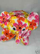 Plushalicious Elephant Pillow Pet Toys R Us Colorful Flower Pink Yellow Flowers