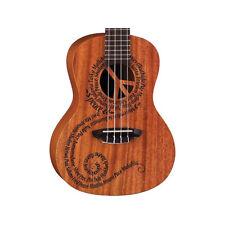 Luna Guitars Peace Concert Ukulele UKE MALU