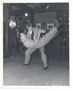Guy Madison 1945 RKO Dancing CANDID Original 8x10 Fred Hendrickson