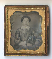Lovely daguerreotype of an attractive young woman