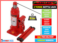 Bottle Jack 2 Ton Heavy Duty Hydraulic Tonne Lifting Ram Car Van Caravan NEILSEN
