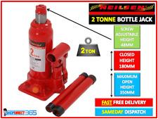 Bottle Jack 2 Ton Heavy Duty Hydraulic Tonne Lifting Ram Car Van Caravan NEILSEN