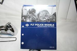 2008 FLT Police Harley parts catalog 99545-08 NOS FL FLH book manual EPS23514