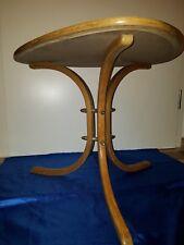 TAVOLINO d'appoggio renale gambe curve Mid Century 50s table superfici curve lisce-Legs