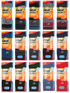 Heat Holders - Mens Thick 2.3 TOG Winter Warm Thermal Socks Size 6-11 uk