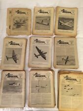"""198 of the 217 Editions of """"The Aeroplane Spotter """" Magazine 1941-1948"""