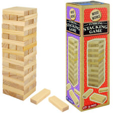 MINI JENGA TUMBLING TOWER WOOD GAME TOY BOY GIRL GIFT BIRTHDAY PARTY BAG FILLER