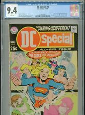 1969 DC SPECIAL #3 NEAL ADAMS SUPERGIRL WONDER WOMAN CGC 9.4 WHITE BOX6