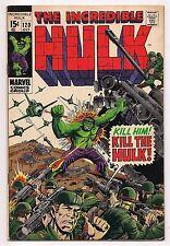 INCREDIBLE HULK #120 1969 VF+  HIGH GRADE - Hulk vs. Maximus & the Evil Inhumans