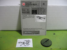 Axis & Allies Reserves Type 97 Antitank Rifle with card 42/45