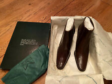 Maud Frizon Ankle Booties US Size 36 Brown