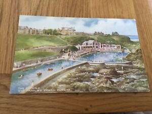 Postcard : The Bathing and Paddling Ponds, Dunbar.