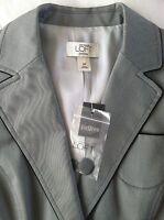 NEW! Ann Taylor LOFT Gray Career Blazer Jacket , Size: 6P / 6 / S