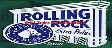 Billboard for Plasticville Holder Rolling Rock Beer