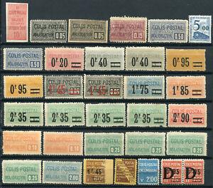 FRANCE 1892/1960 BEAU LOT de 33 Colis Postaux (*)  Est : 202,00€