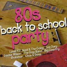 80S BACK TO SCHOOL PARTY (Bunny Wailer, Shalamar, Kool & The Gang) CD NEU