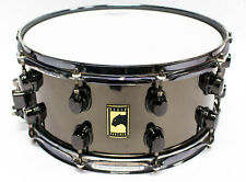 2007 Mapex Black Panther Steel Snare Drum 14 x 6.5