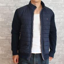 New Tommy Hilfiger Mens Fleece Jacket Navy XL