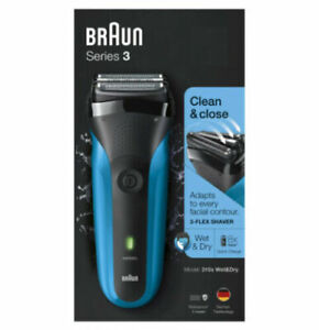 Braun Series 3 310S Wet & Dry Electric Rechargeable Waterproof Shaver NEW