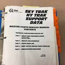 JLG Skytrak Hytrak SUPPORT DATA PARTS/SERVICE MANUAL MATERIAL HANDLER FORK LIFT