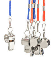 6 Metal Whistle & Lanyard Emergency Survival, Party's