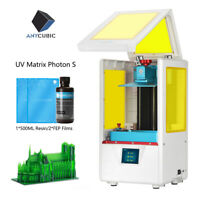 ANYCUBIC PHOTON-S Home Safe Desktop UV Matrix SLA 3D Printer Resin-Curing 2K TFT