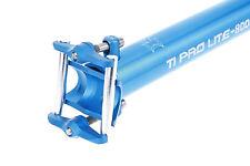 KCNC Ti Pro Lite Road MTB Bike Scandium Seatpost Post 31.6mm 400mm Blue